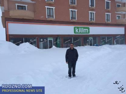 سرمای بی سابقه در ترکیه با دمای 41درجه زیر صفر/ پرچم ترکیه یخ بست
