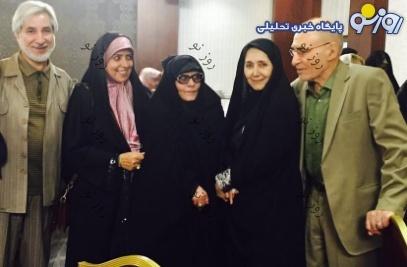 مراسم عروسی دختر میرحسین موسوی/عکس