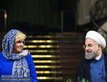 سفری دیپلماتیک که تحت تاثیر شوخی های مردان ایرانی به حاشیه رفت/اشتراک گذاری عکس های اشتباهی خانم رییس جمهور در شبکه های اجتماعی