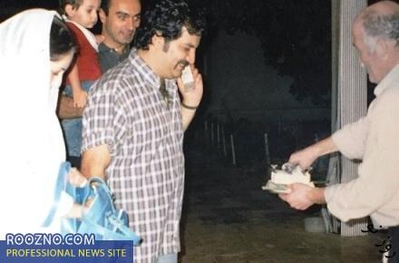 عکسی از عروسی شقایق دهقان و محراب قاسم خانی