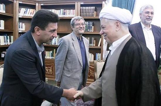 Image result for قلعه نویی و هاشمی رفسنجانی