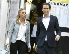 پيروزي صدراعظم 31 ساله در اتریش/عكس
