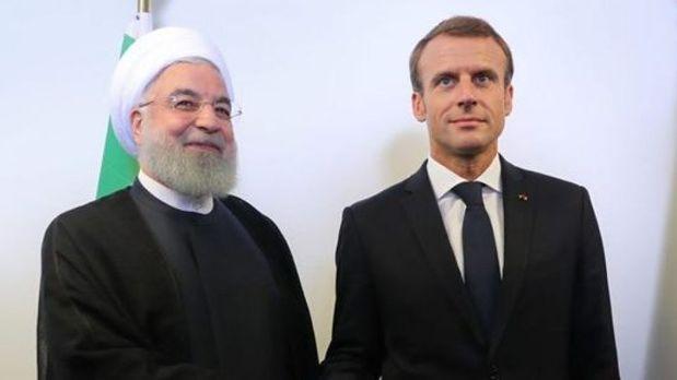 روحانی خطاب به مکرون: تنها راه حفظ و احیای برجام لغو تحریمهای آمریکا است
