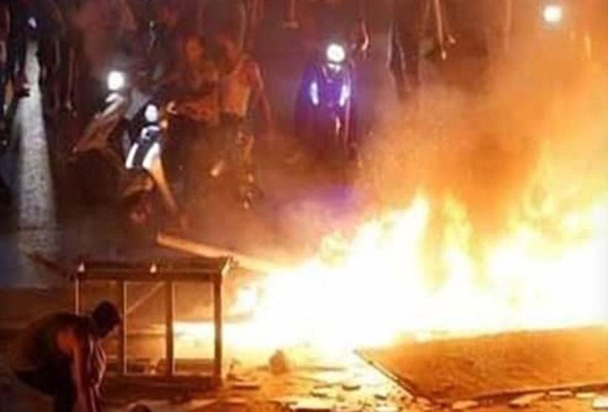 فرمانداری شهرستان ایذه :یک کشته و ۱۴ مجروح در اعتراضات ایذه