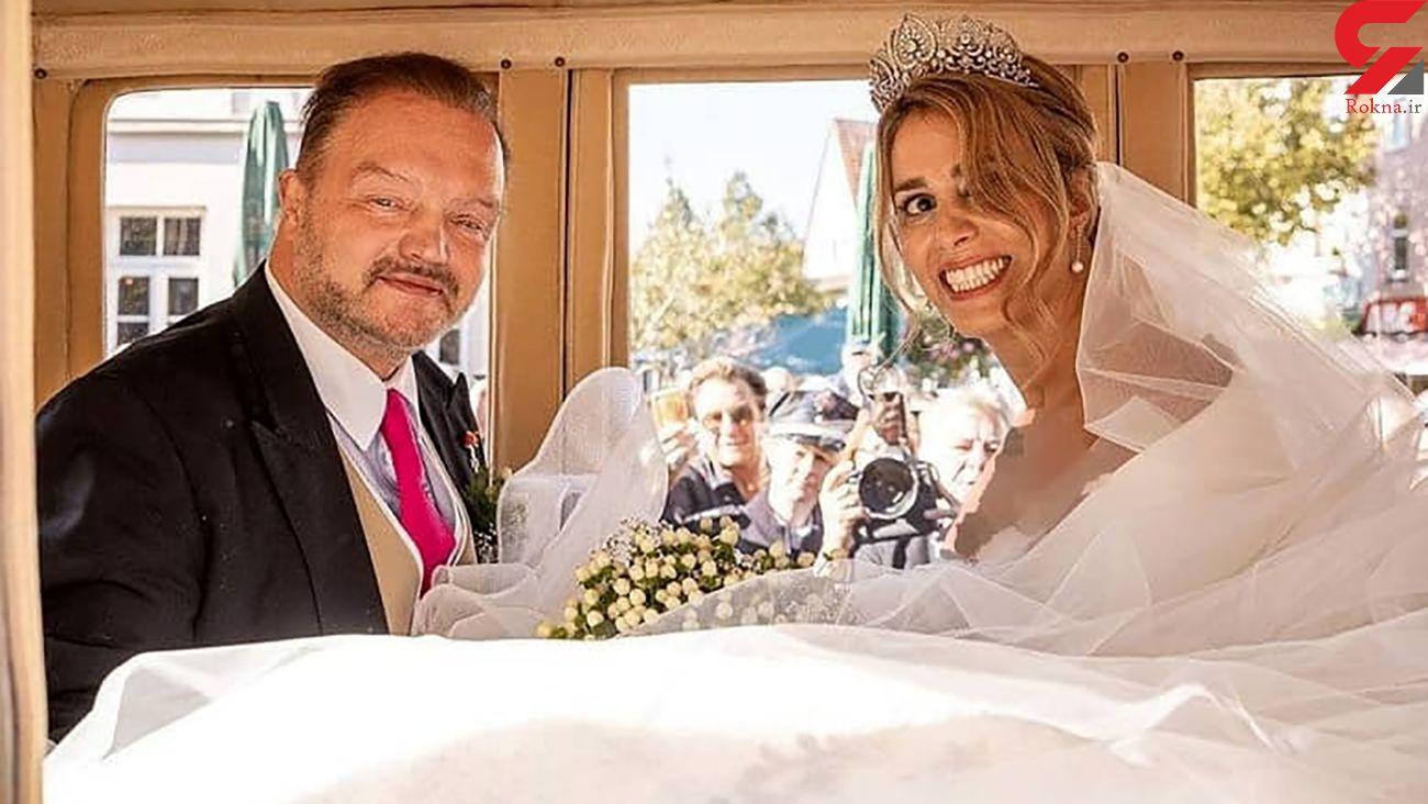 عکس عروسی دختر ایرانی با شاهزاده آلمانی